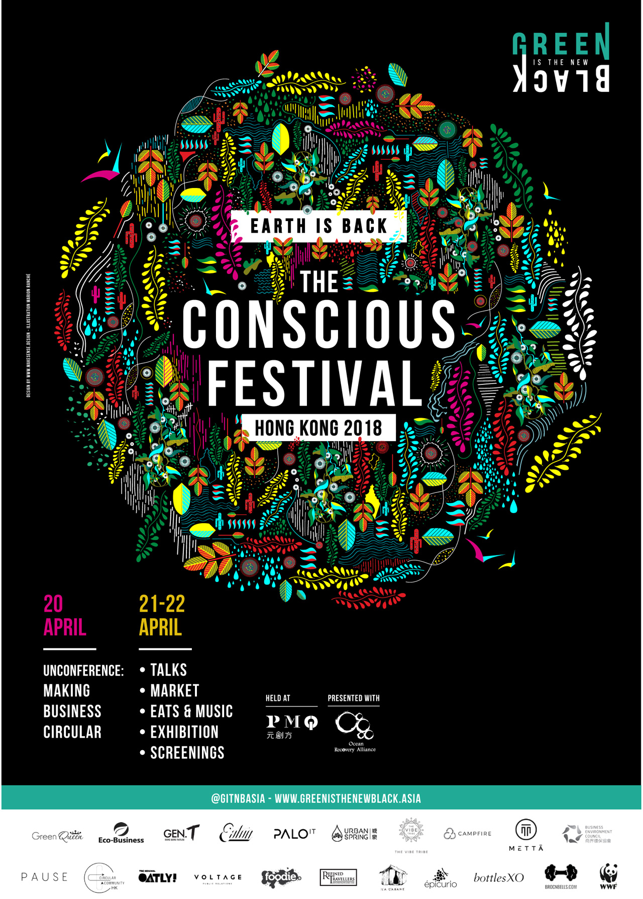 The Conscious Festival -- 20-22 April in HK
