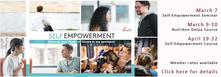 Self Empowerment Seminars with Susana and Luke Hancock