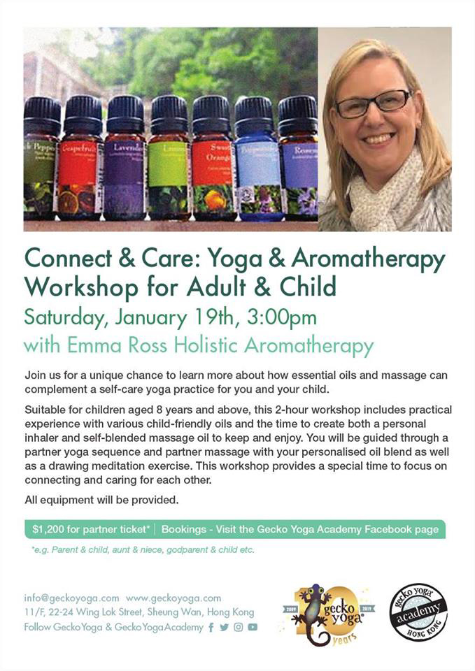 Yoga and Aromatherapy Workshop for Adults & Children