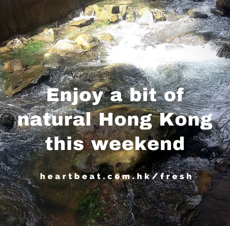 Have a natural HK weekend