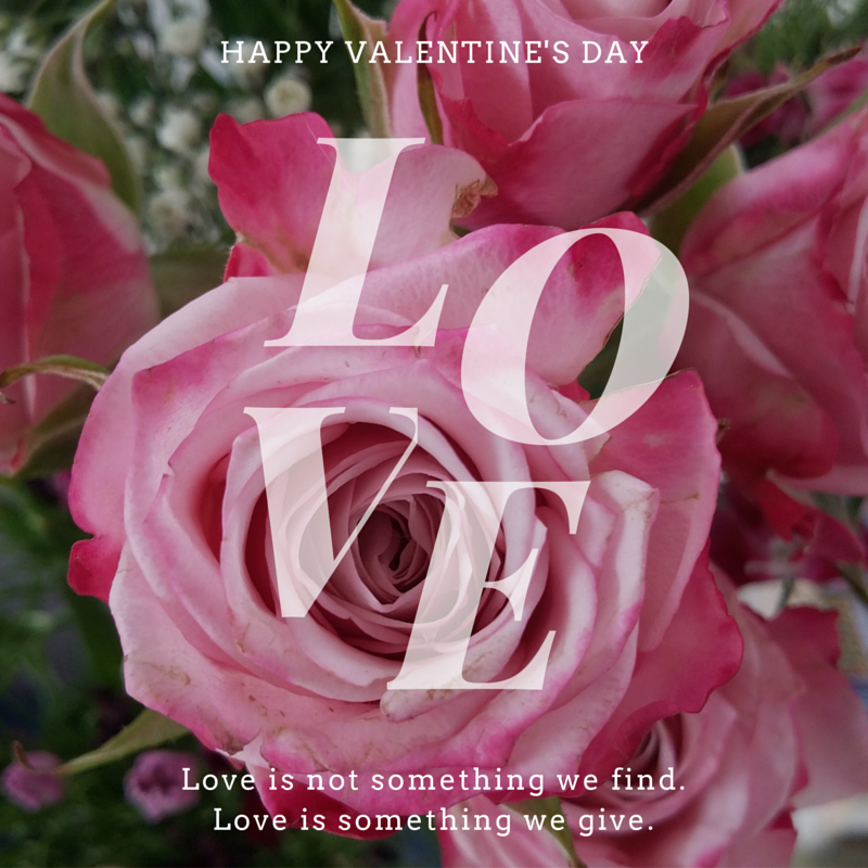 For the love of Valentine … naturally