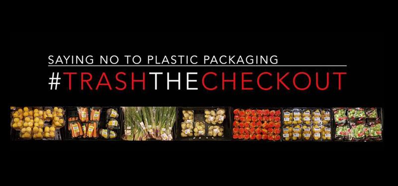 Zero waste plastic – #trashthecheckout