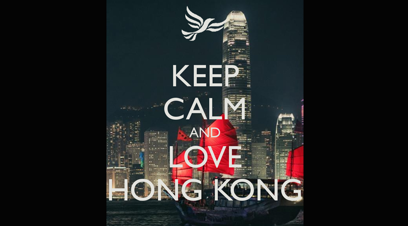 Love and Peace in Hong Kong