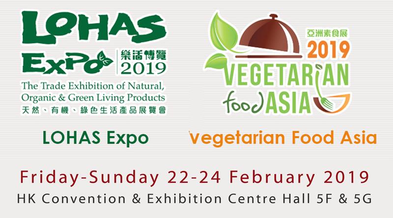 LOHAS Expo & Vegetarian Food Asia 2019