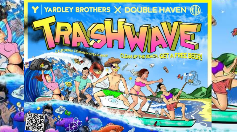 Trashwave Beach Cleanup Party