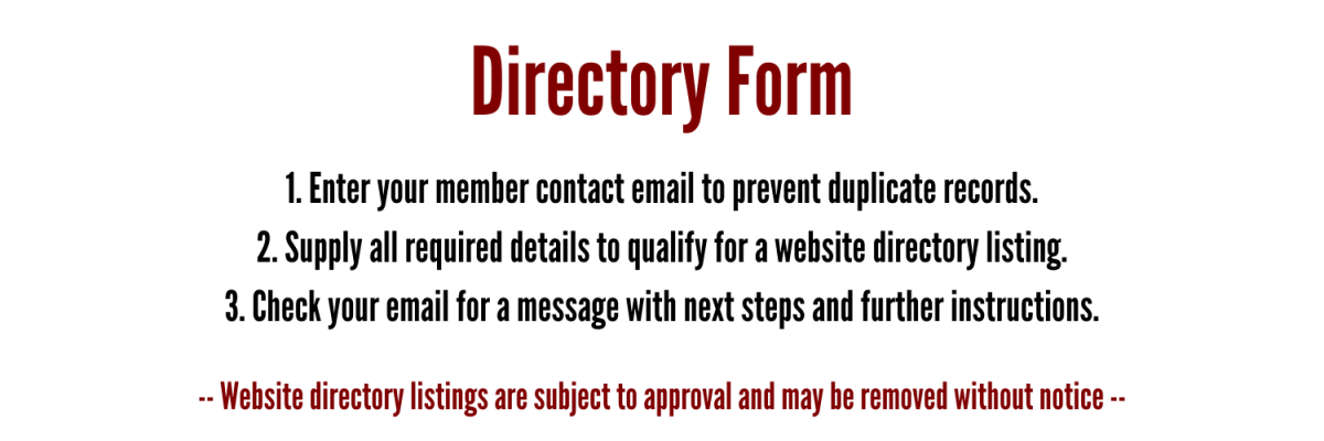 Directory listing form
