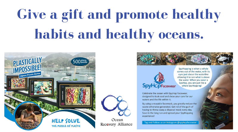 Healthy gifts for healthy oceans