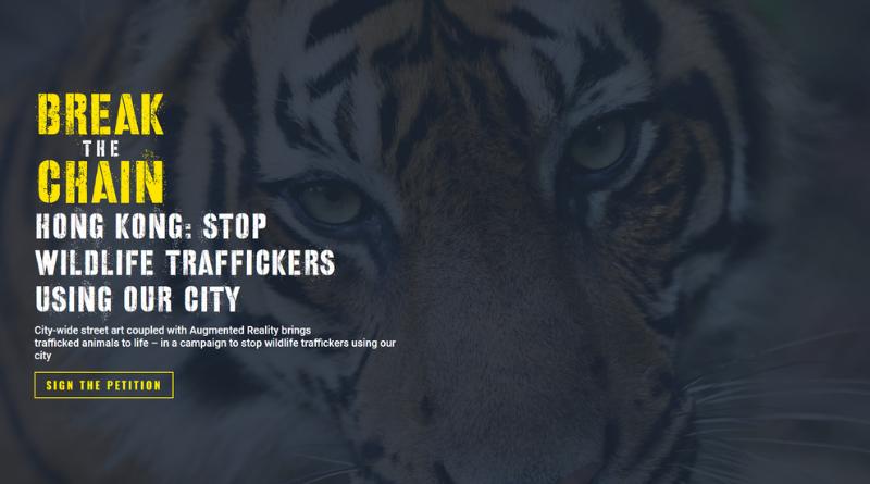 PETITION: Stop wildlife traffickers in HK